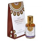 Perfume Indiano Goloka Sálvia Branca (10ml)