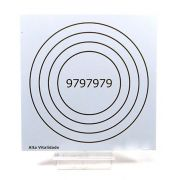 Placa Radiônica Alta Vitalidade (PVC)