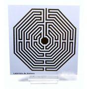 Placa Radiônica Labirinto de Amiens (PVC)