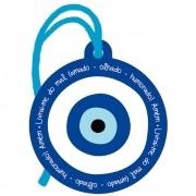 Placa TAG em MDF Olho Grego (8x9cm)