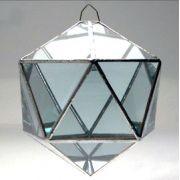 Prisma D'água Icosaedro (10cm)