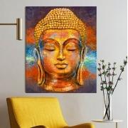 Quadro Decorativo Quebra-Cabeça de Parede Buda (74x90cm)