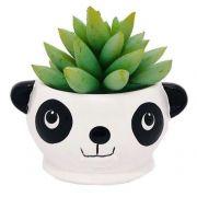 Vaso Cachepot em Cerâmica Panda (6,5cm)