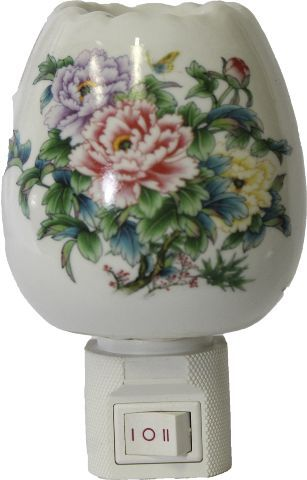 Aromatizador Elétrico Crisântemo em Porcelana