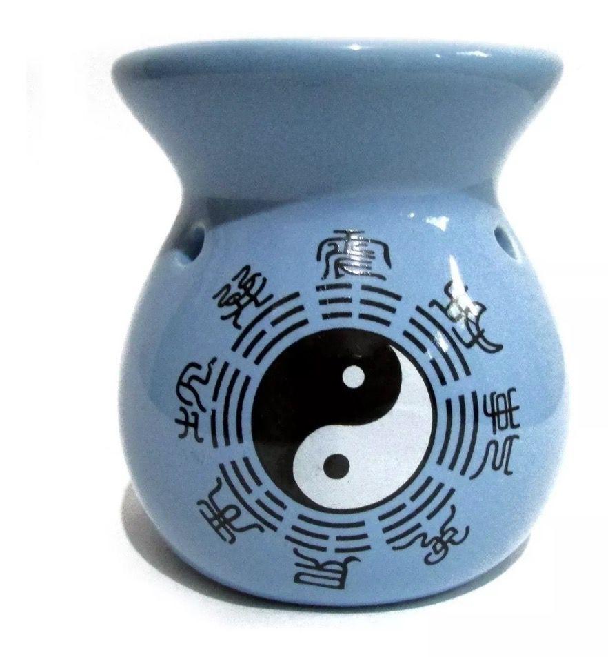Aromatizador em Cerâmica Yin Yang Grande (8cm)