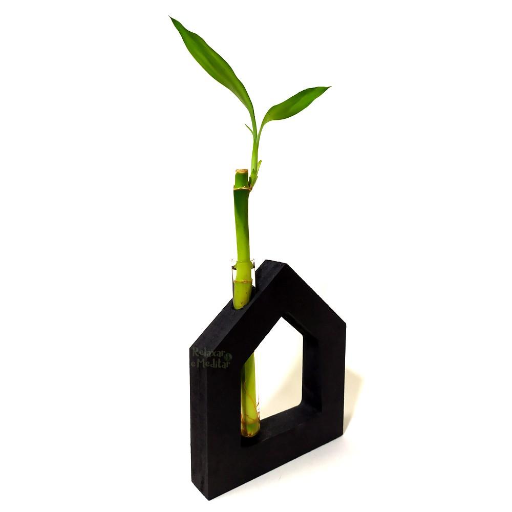 Arranjo com Bambu da Sorte Sweet Home
