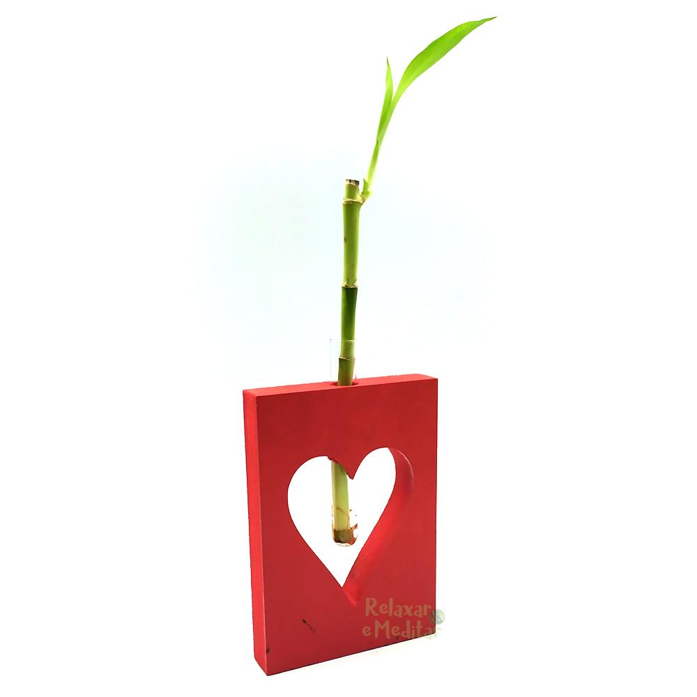 Arranjo com Bambu da Sorte Sweet Love