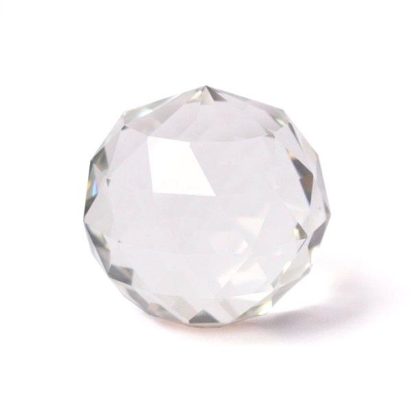 Bola de Cristal Multifacetada de Mesa (4cm)