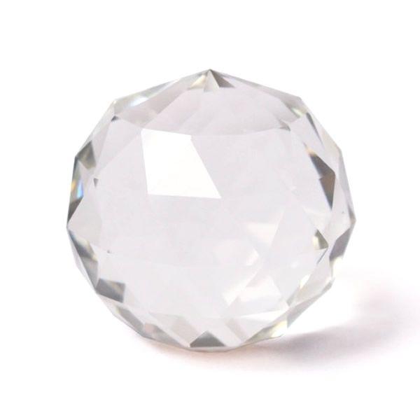 Bola de Cristal Multifacetada de Mesa (5cm)