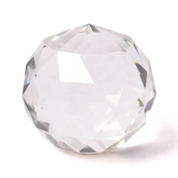 Bola de Cristal Multifacetada de Mesa (6cm)