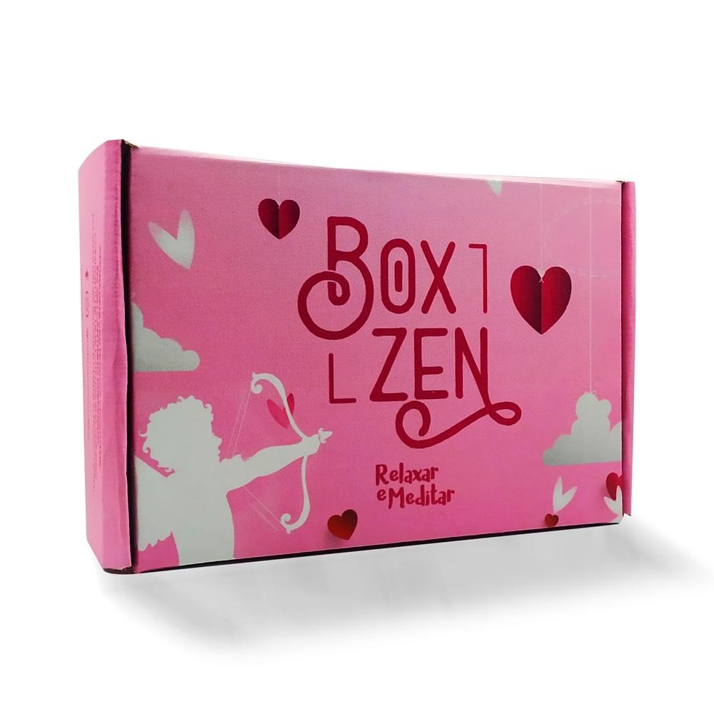 Box Zen - Kit de Produtos com Caixa Surpresa: Edição Dia dos Namorados