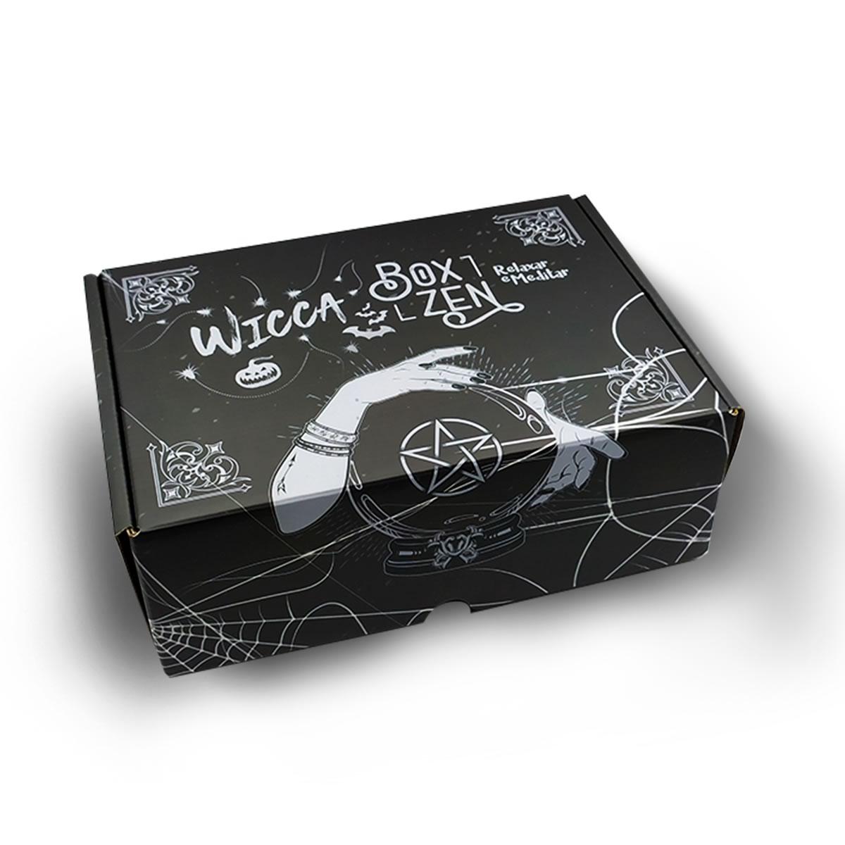 Box Zen - Kit de Produtos com Caixa Surpresa: Edição Wicca