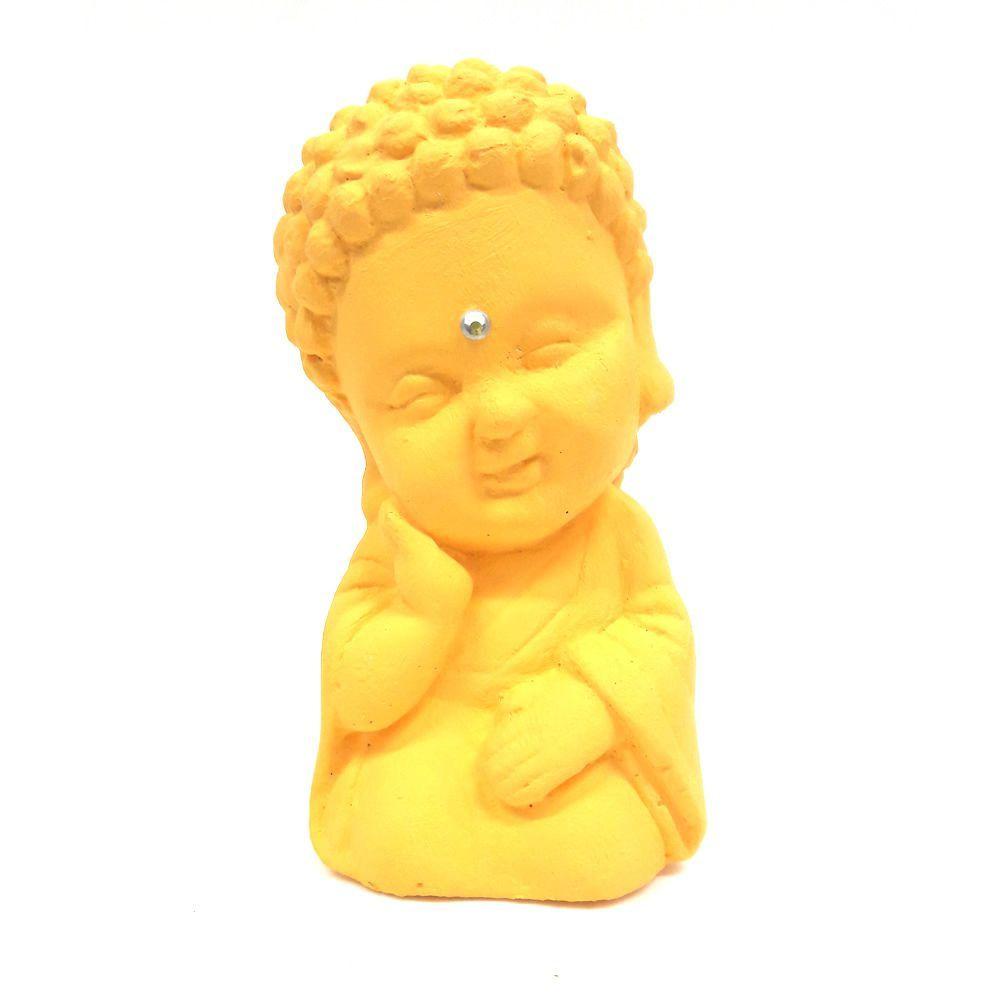 Buda Baby da Sabedoria com Cristal (9cm)