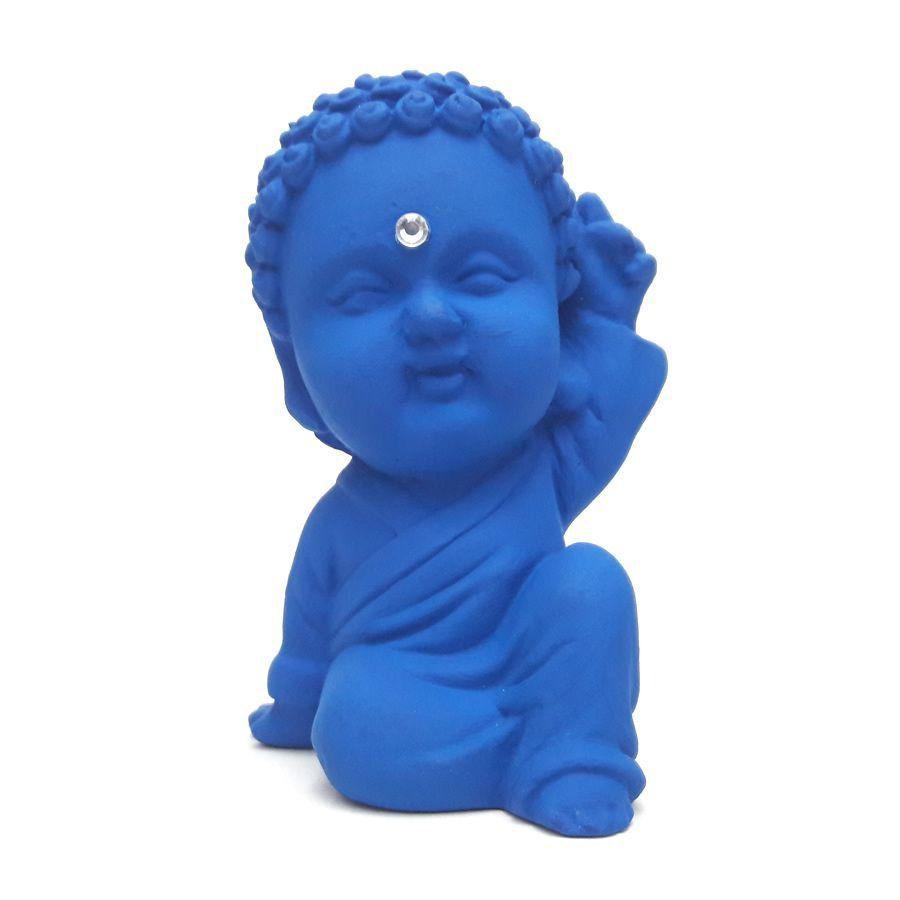 Buda Baby Paz e Amor com Cristal (9cm)