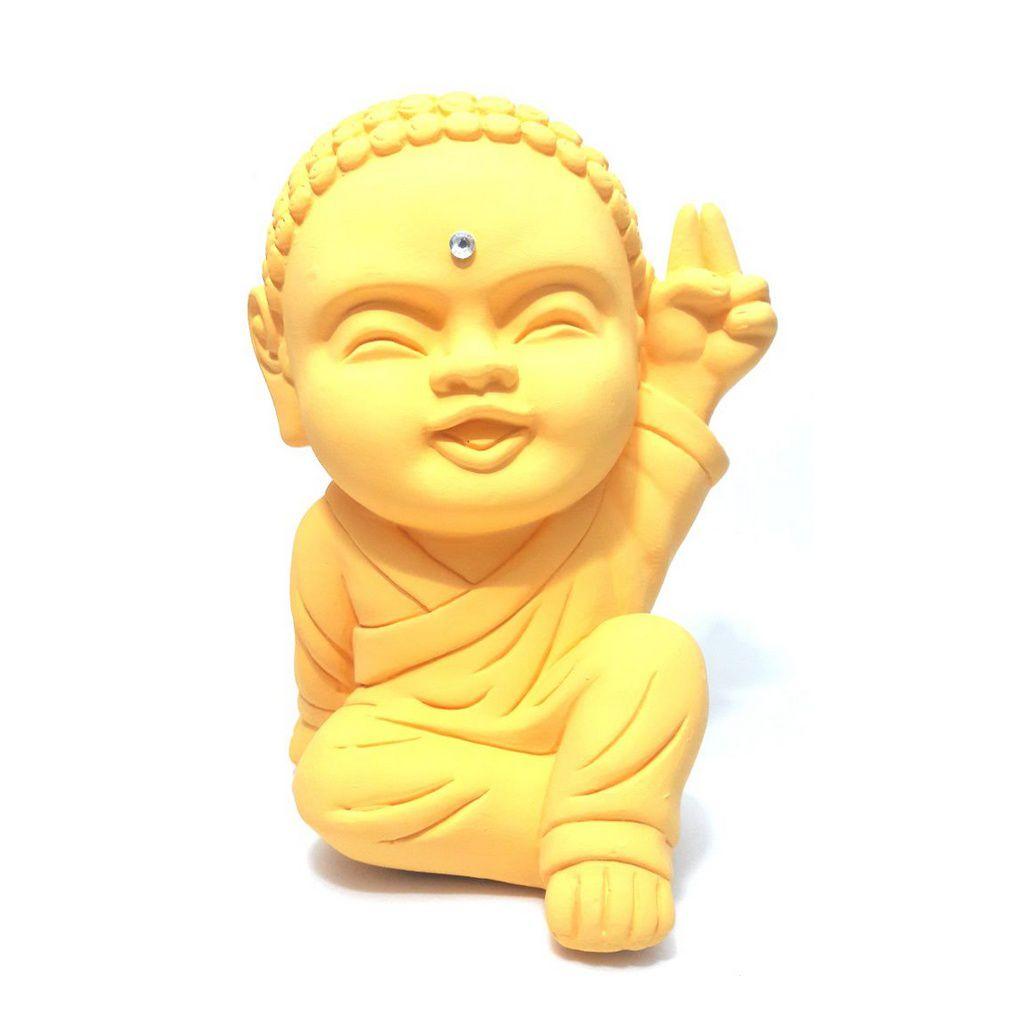 Buda Baby Paz e Amor Grande (20cm)