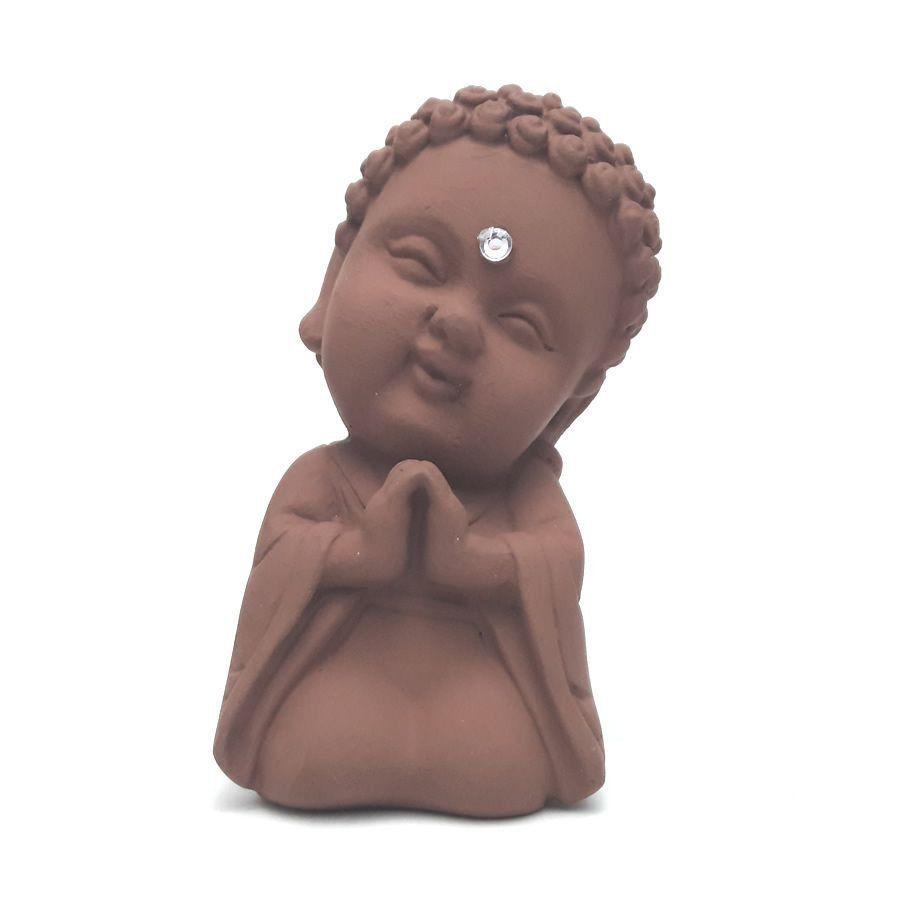 Buda Baby Rezando com Cristal (9cm)