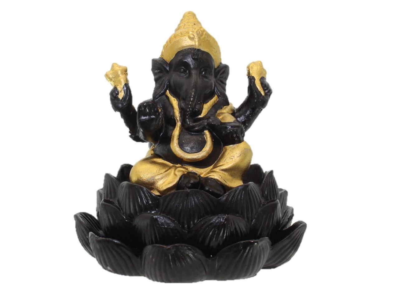 Cascata de Fumaça Ganesha na Flor de Lótus