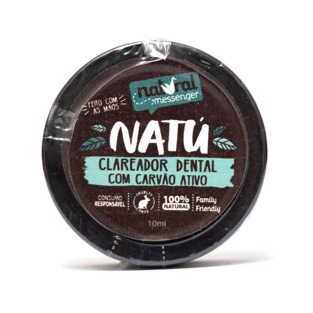 Clareador Dental com Carvão Ativo Natural Messenger