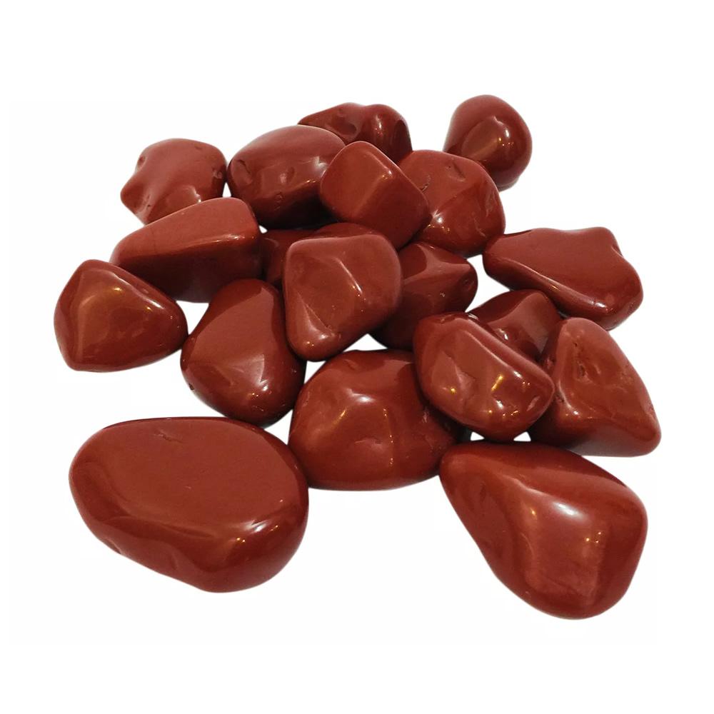 Pedra Jaspe Vermelha (100g)