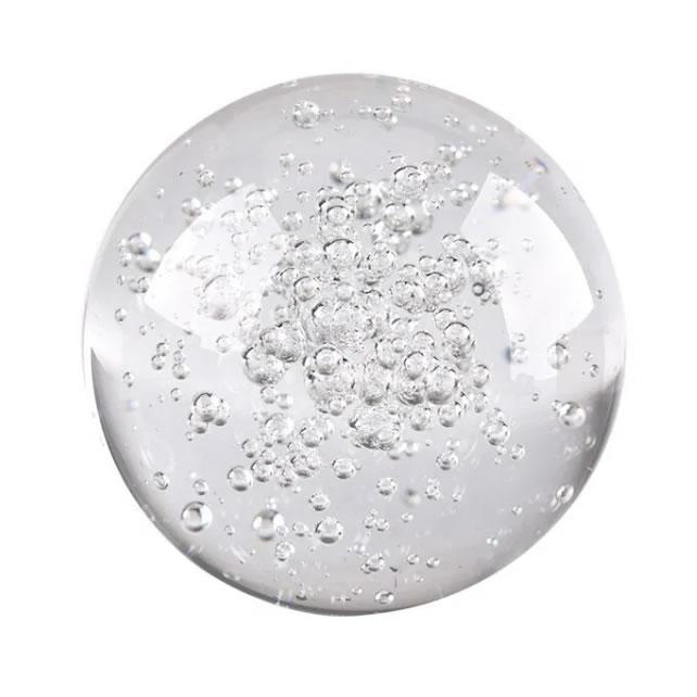 Esfera de Vidro com Bolhas para Fonte de Água (4cm)