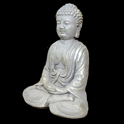 Estátua Buda em Concreto (15cm)