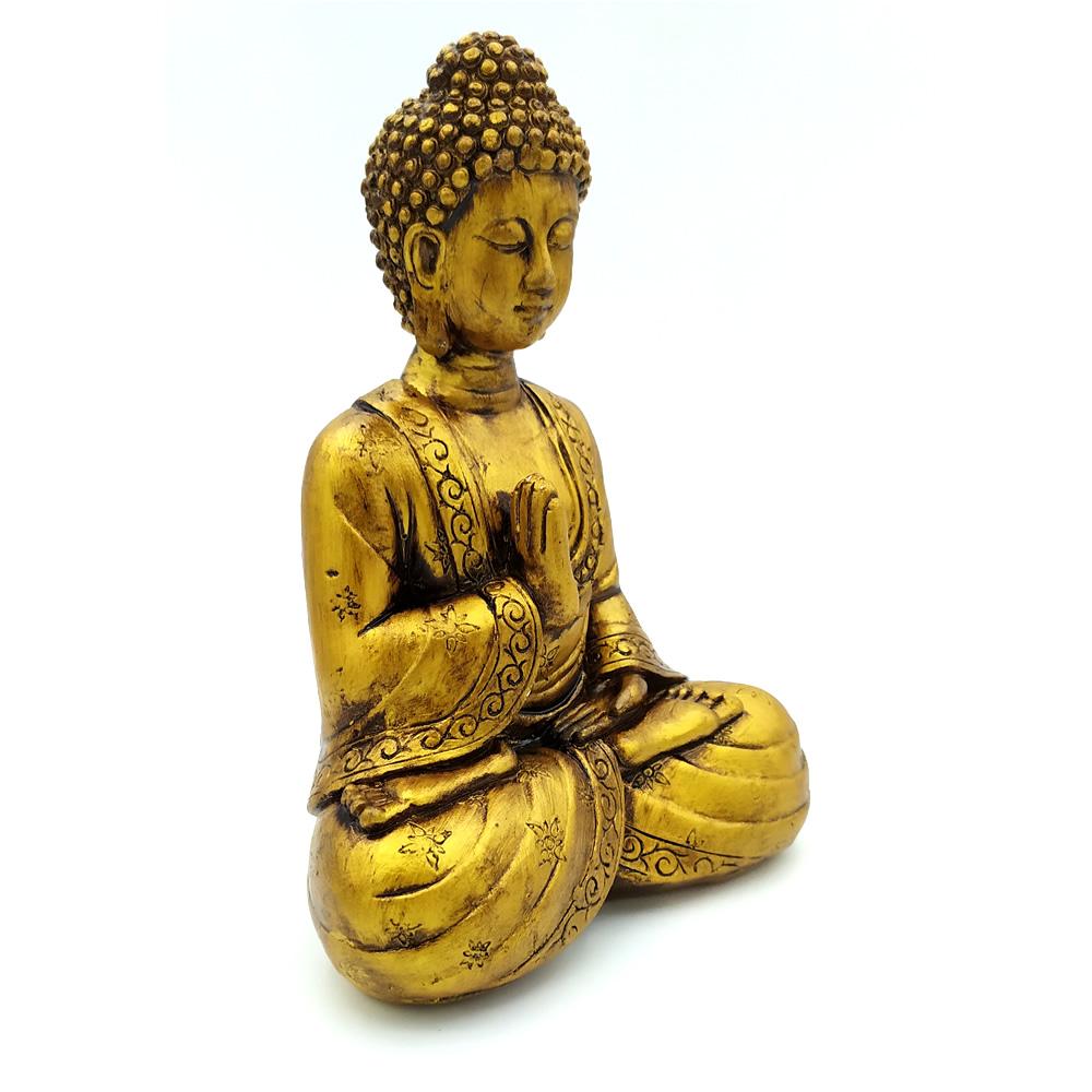 Estátua Buda Meditando (16cm)