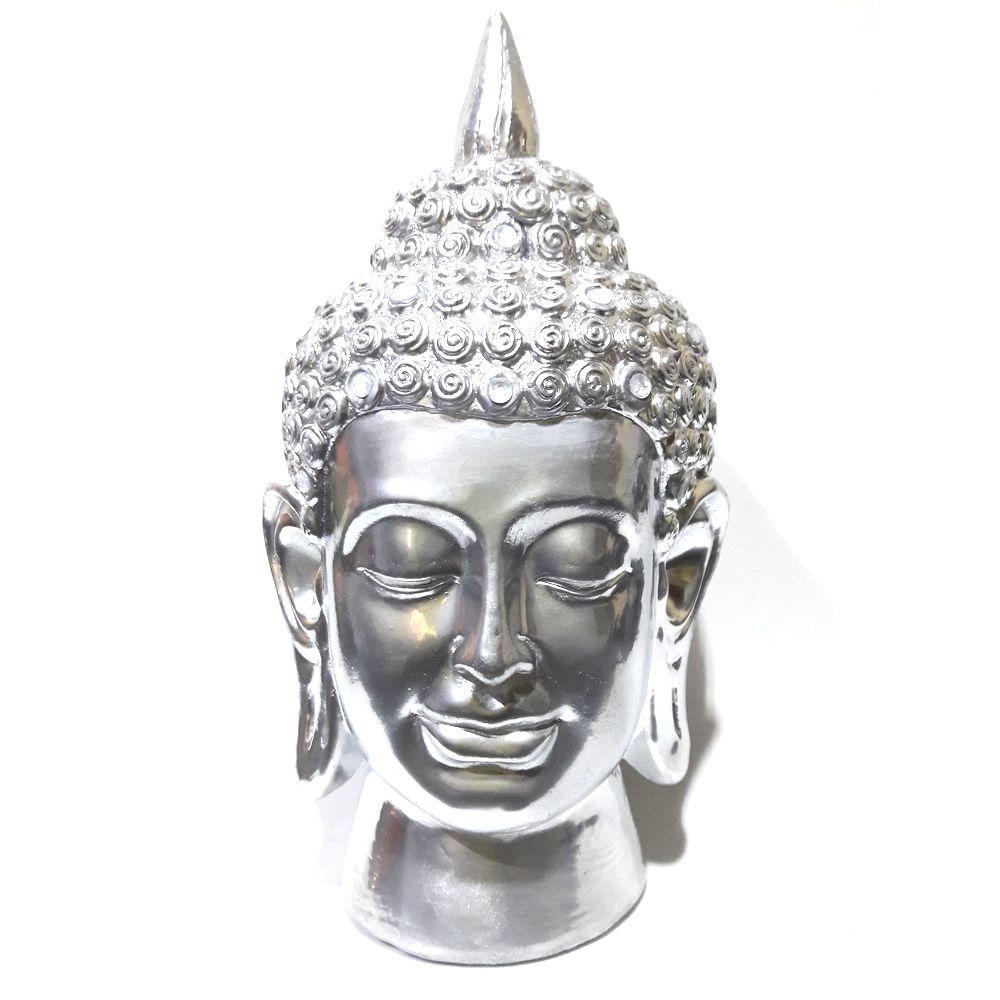 Estátua Cabeça de Buda Hindu (22cm)