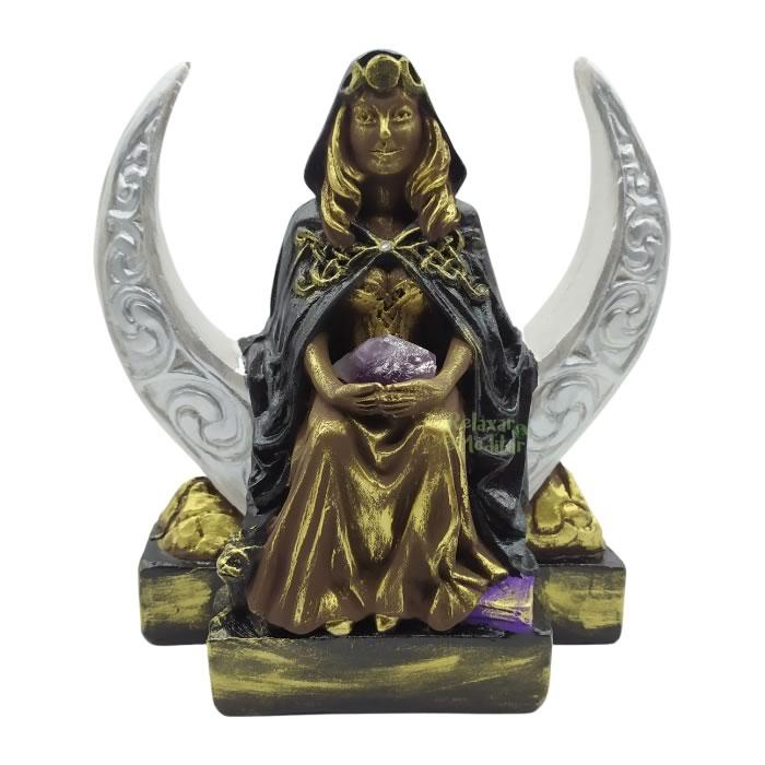 Estátua Deusa Brigit Wicca (20cm)