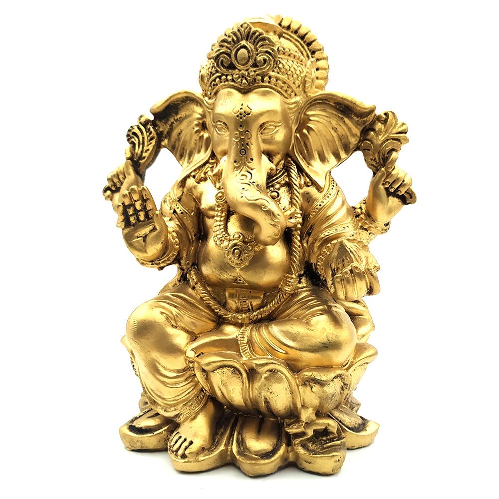 Estátua Ganesha em Resina (16cm)
