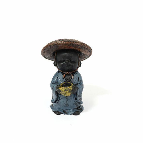 Estátua Monge da Colheita em Resina