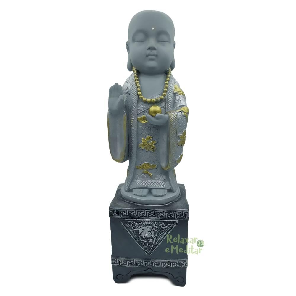 Estatua Monge da Meditação (30cm)