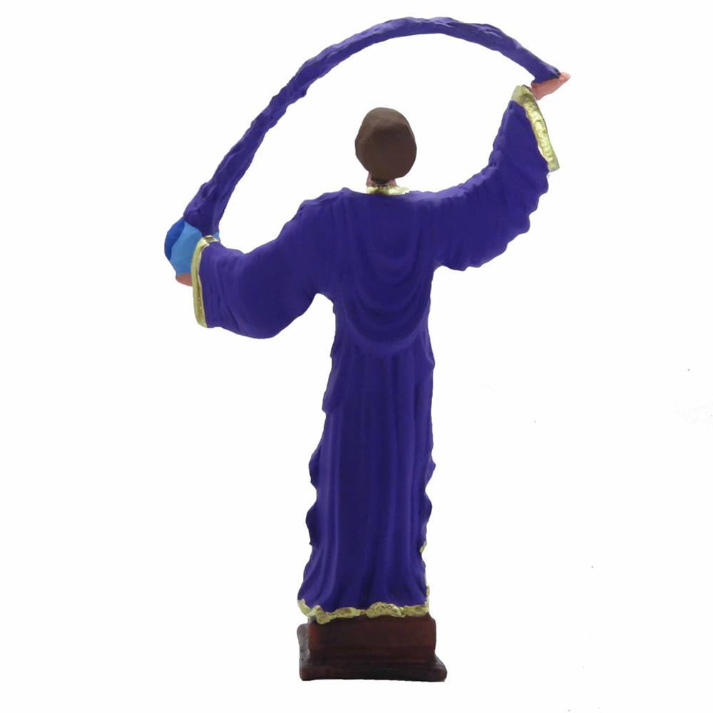 Estátua Saint Germain com Raio Violeta (28cm)