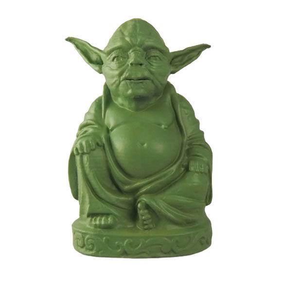 Estátua Yoda Buda em Resina (11cm)