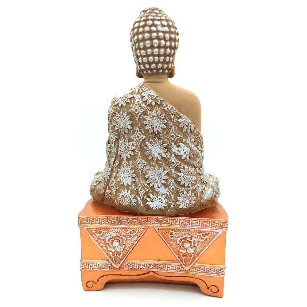 Estatueta Buda Meditando no Altar (27cm)