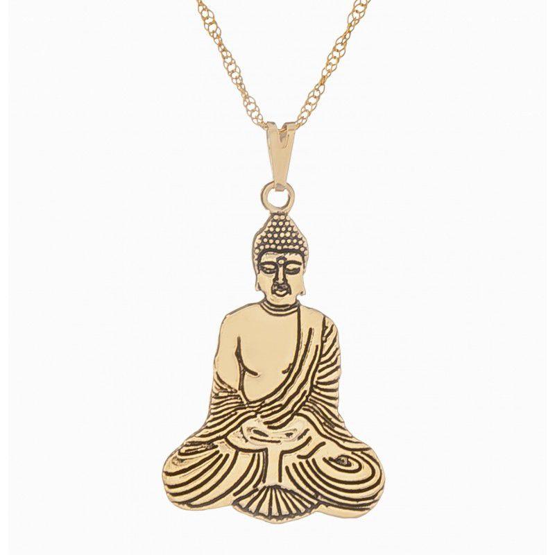Gargantilha Buda (22x30mm)