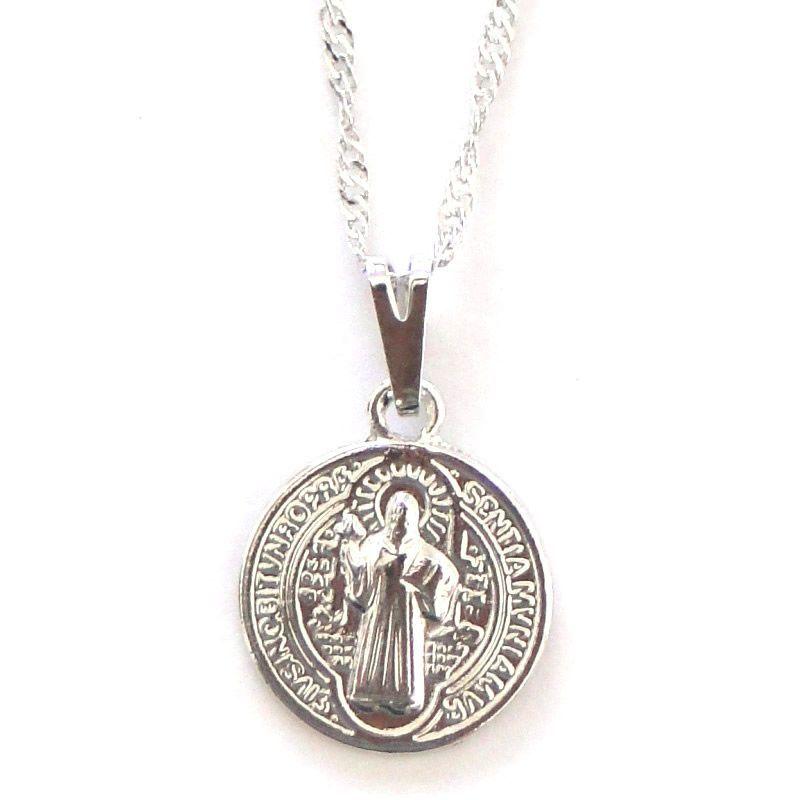 Gargantilha Medalha de São Bento (13mm)