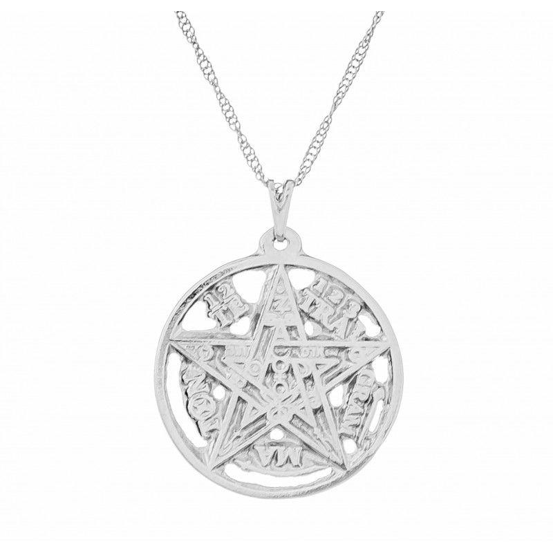 Gargantilha Tetragrammaton (27mm)