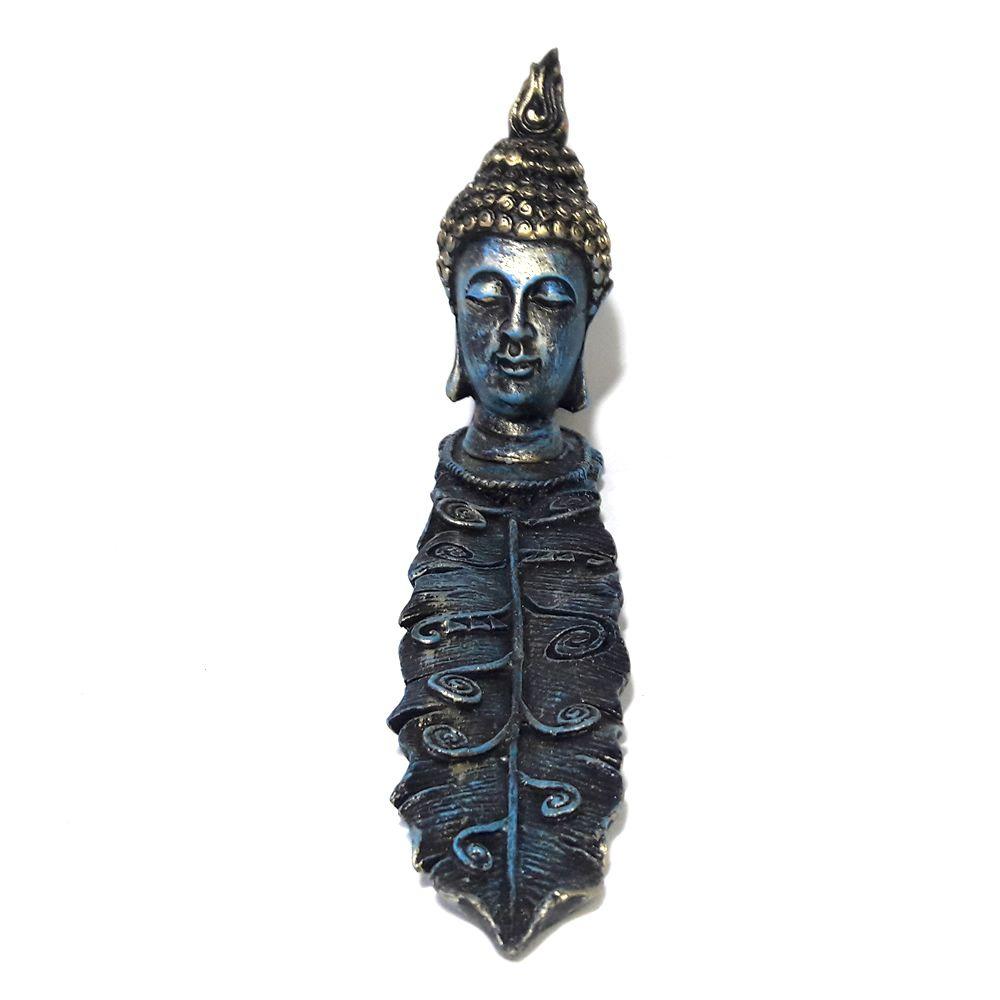 Incensário Canaleta Cabeça de Buda (24cm)