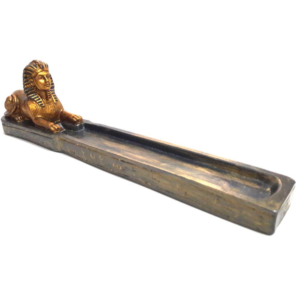 Incensário Canoa Esfinge Faraó