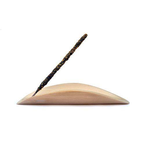 Incensário Artesanal Folha em Bambu