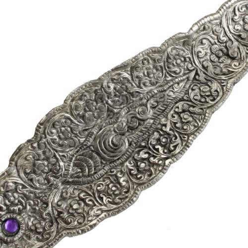Incensário Indiano Folha de Metal (Ganesha)