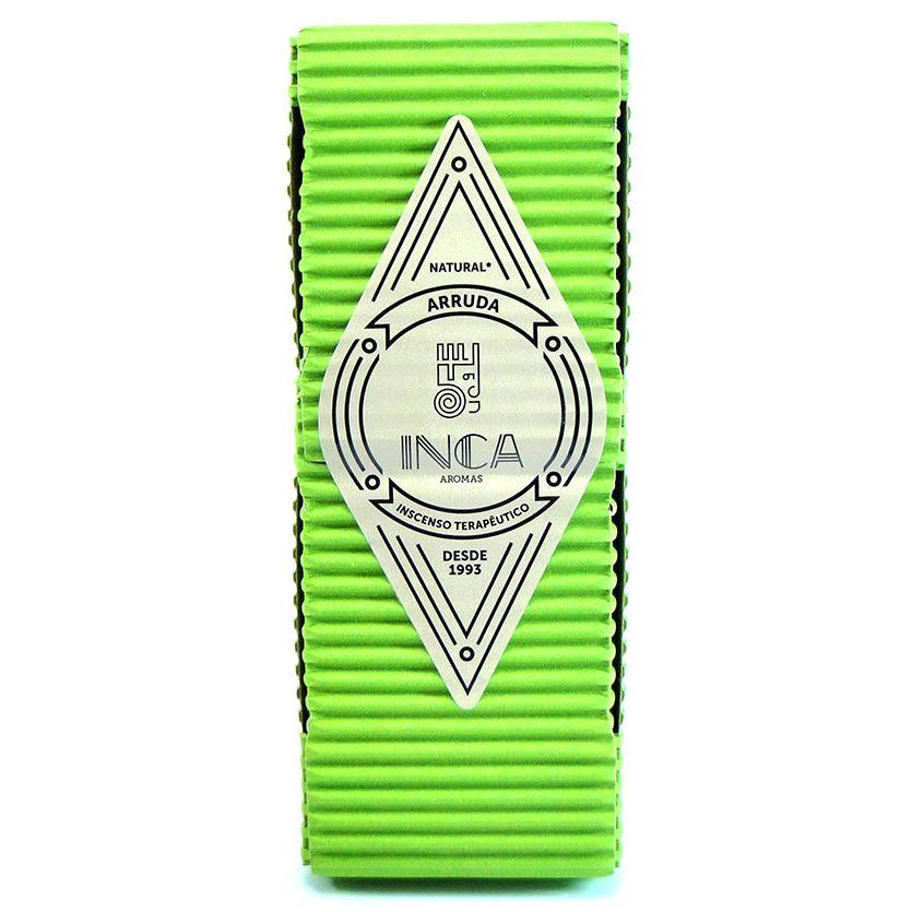 Incenso Artesanal Arruda (Inca Aromas)