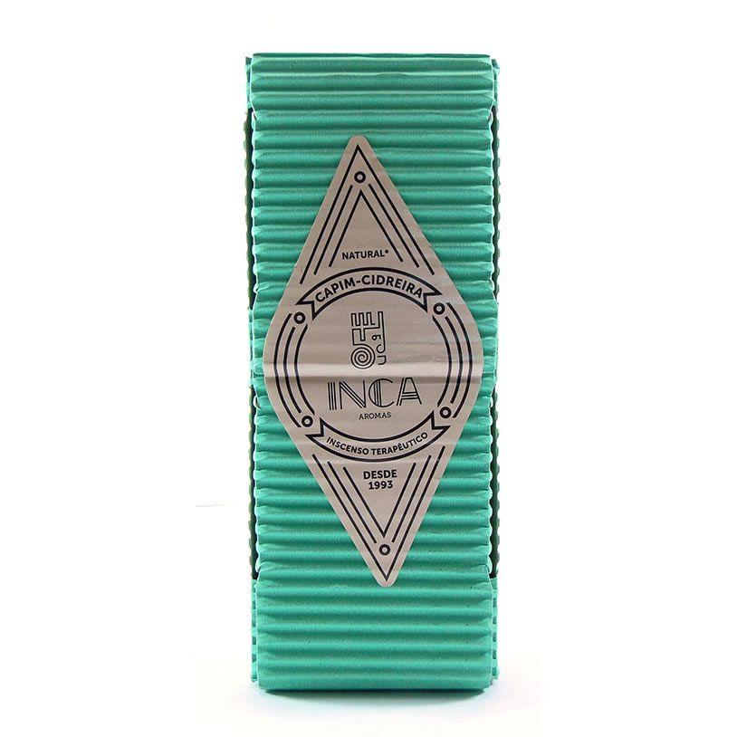 Incenso Artesanal Capim Cidreira (Inca Aromas)