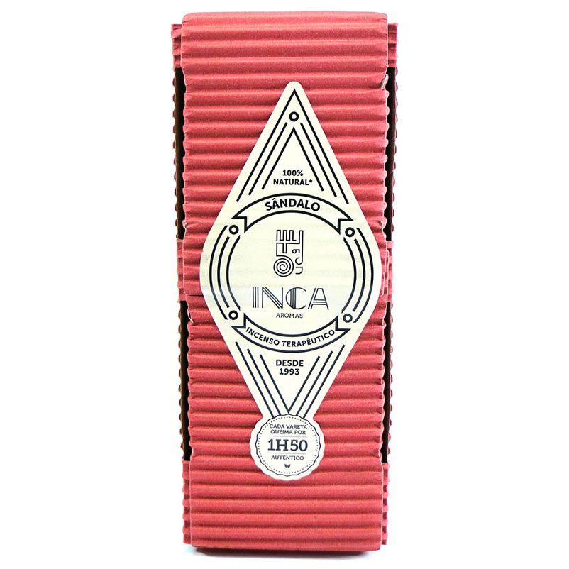 Incenso Artesanal Sândalo (Inca Aromas)