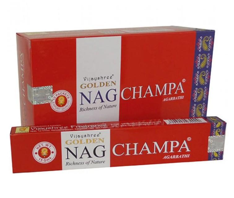 Incenso Indiano de Massala Golden Nag Champa