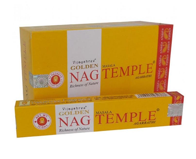 Incenso Indiano de Massala Golden Nag Temple