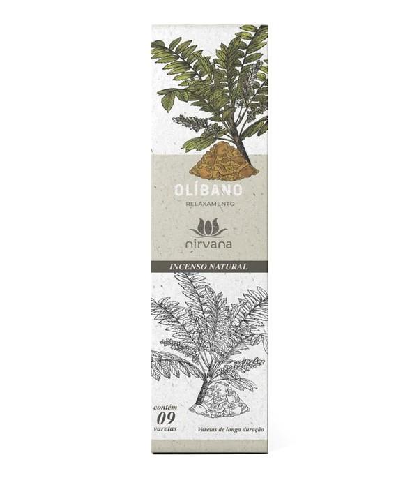 Incenso Natural Olíbano 100% Natural (9 Varetas)