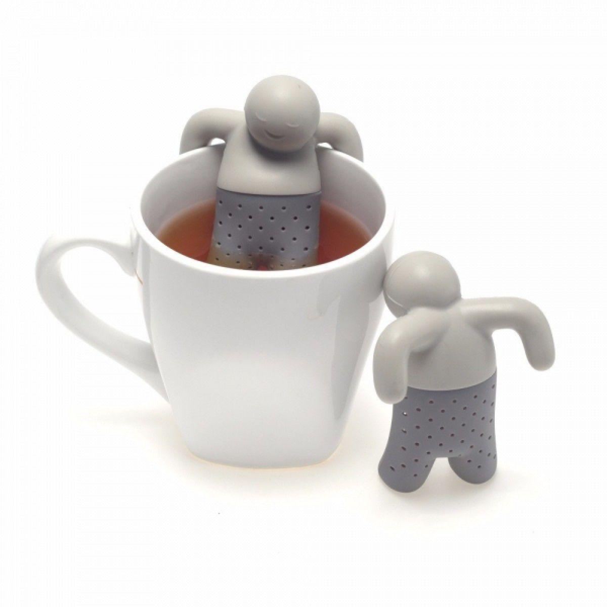 Infusor de Chá em Silicone Boneco Mr. Tea