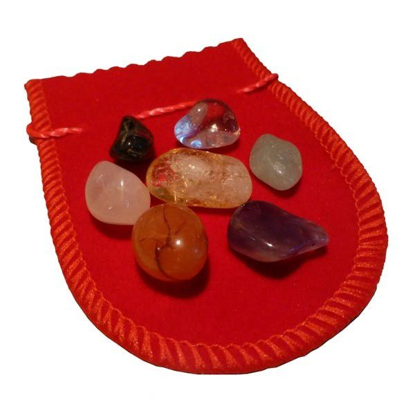 Kit da Sorte com 7 Pedras da Sorte