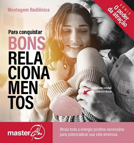 Kit de Montagem Radiônica para Conquistar Bons Relacionamentos